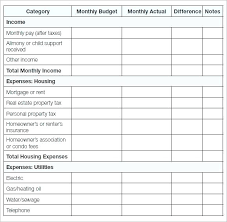 Budget Calculators Excel Home Calculator Household Expenses Template ...