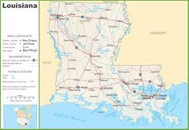 louisiana state maps  usa  maps of louisiana (la)