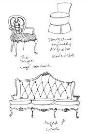 vintage furniture logo. Simple Vintage Line Drawing Of Pedigree Furniture ZsaZsa Bellagio Enchanting And Vintage Furniture Logo