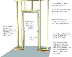 18 garage door header framing construction opening out a with floating basement walls forums x ho garage door header