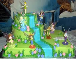 8 Tinkerbell Birthday Cakes Kids Photo Kids Birthday Cakes Girls