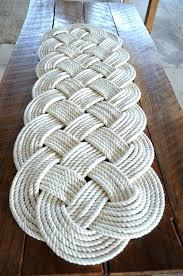 nautical bath mat nautical rope rug large bath mat off white cotton by nautical bath mat