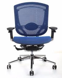 GTCHAIR Blue Mesh Ergonomic Office Chair Ergonomic Study Chair C60