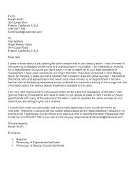 Great Receptionist Cover Letters Resume Letter Collection