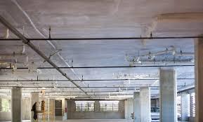garage ceiling insulation. Delighful Insulation Parking Deck Spray Foam 2 On Garage Ceiling Insulation G