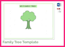 Family Tree Template Free Printable Word Excel Examples Templates ...