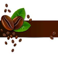 coffee beans clipart. Modren Clipart Background Of Coffee Beans With Leaves Throughout Coffee Beans Clipart