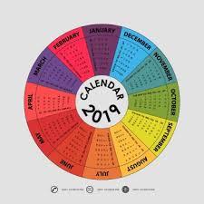 Circle Calendar Template Has Buscado 2019 Calendar Template Circle Calendar Template