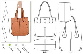 Tote Bag Sewing Pattern Gorgeous London Tote Bag Style Arc