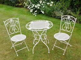white metal outdoor furniture. White French Style Bistro Set , - Olive And Sage, Sage Metal Outdoor Furniture O