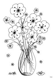 Flower Coloring Pages For Kids Beautiful Coloring Pages Kids Best