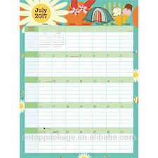 Custom Vertical Colorful Large Big Size Dry Erase Monthly Wall Planner Schedule Chart Calendar Printing 2019 Buy Monthly Planner Calendar