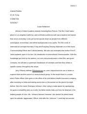 crash essay crash paper afton mclaughlin sm crash the film  10 pages crash reflection