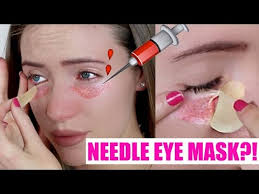 Trying the Botox Needle Eye Patch! OUCH! - YouTube
