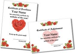 Free Certificate Templates For Word Printable Certificates For Teachers