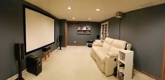 Basement Movie Room Screen Wall Basement Movie Room R Nongzico