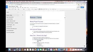 In google docs new document templates exist so you can create online documents in a flash. Using Google Docs For Note Taking Youtube