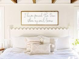 master bedroom wall decor i have found