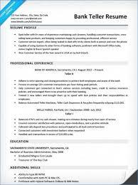 40 New Bank Teller Resume Greatenergytoday Interesting Resume For Bank Teller