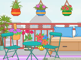 image titled decorate small. Image Titled Decorate Small Apartment Balconies Step 16 E