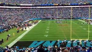 Carolina Panthers Seating Chart With Rows Breakdown Of The Bank Of America Stadium Seating Chart