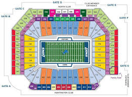 Ford Field Seating Chart View Ford Field Seating Chart In Play Magazine