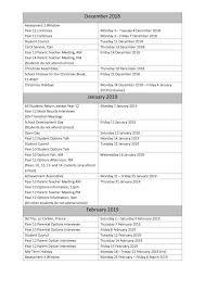Lagan College 2018 2019 Calendar Lagan College