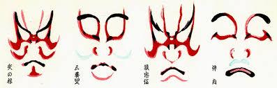 kabuki makeup. kabuki makeup o
