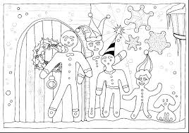 Shrek Gingerbread Man Coloring Pages The Gingerbread Man Coloring