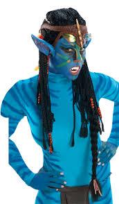 deluxe neytiri wig with ears 51531