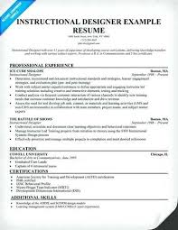Instructional Designer Resume Example Best of Instructional Designer Resume Objective Web Developer Designer