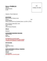 Paano Gumawa Ng Resume Example Perfect Resume Format