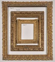 antique frame. Lots 5 To 7: Italian And French Frames, 17th \u0026 18th Century Antique Frame