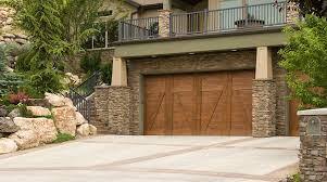 wooden garage door styles costs