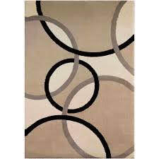orian rugs plush circles oris flax area rug