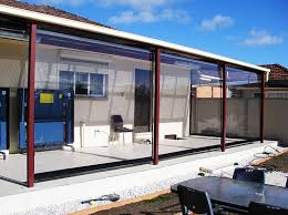 outdoor clear blinds
