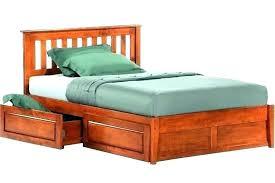 Pedestal Bed Frame Pedestal Bed Frame Queen Base Full Platform With ...