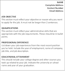 Skills For A Job Resume - nardellidesign.com