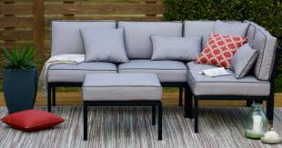 outdoor oasis 4 piece sectional only