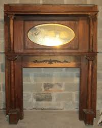 image of antique firplace mantels