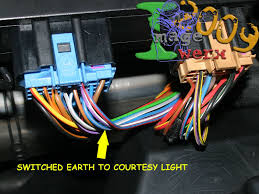 mk4 golf interior lighting wiring diagram audio electrics and posted image