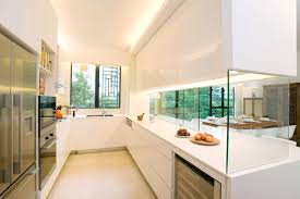 kitchen counters cabinets glass interior