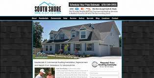 website design for contractors sites4contractors com roofing contractor south shore roof roofing website
