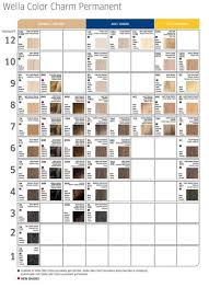 Schwarzkopf Demi Permanent Hair Color Chart Wella Color Charm Toners Chart Several Of These Toners Have
