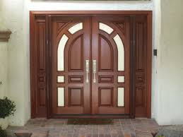 double front doors home depot  Beautiful Home Depot Exterior Wood Doors