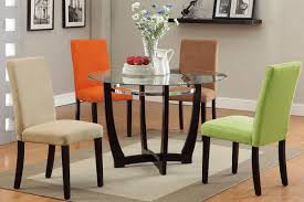 Kitchen Table Glass Top Dining Table Decor Ideas Small Dining Room Sets Pictures Gallery
