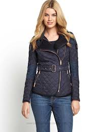 classic fit sunshine superdry rally b5 uu5nr quilt biker jacket womens jackets winter coats
