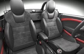 mini usa to introduce recaro seats as
