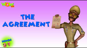 the agreement motu patlu in hindi 3d animation cartoon for kids as on nickelodeon daily stan videos