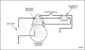 magnetic switch wiring diagram double switch wiring diagram series 60 cranking circuit on magnetic switch wiring diagram